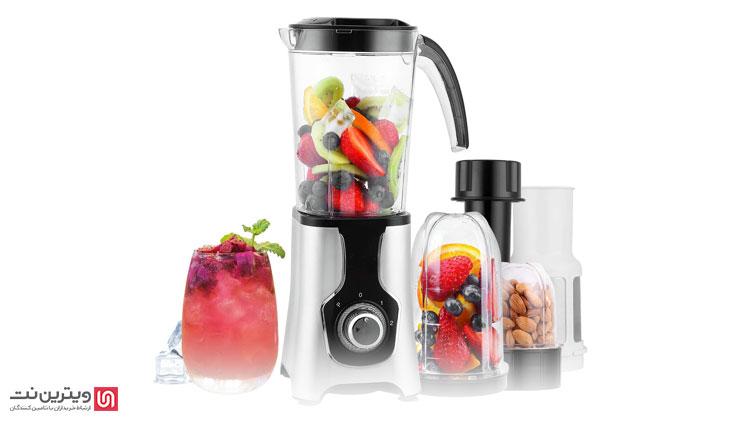 دستگاه مخلوط کن که با نام بلندر نیز شناخته میشود یکی از دستگاههای مورد استفاده صنایع غذایی است