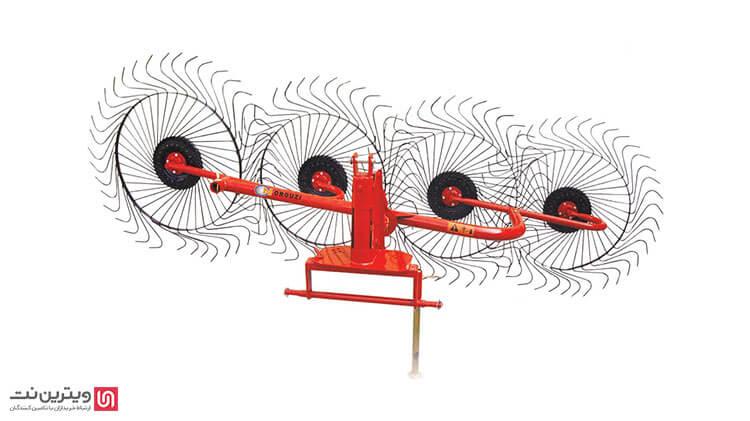 ریکهای خورشیدی از تعدادی چرخ اسپک دار مانند چرخ دوچرخه تشکیل شدهاند. اسپک ها به شکل میله های فنری سر کجی هستند که نوک آن ها در تماس با زمین قرار میگیرد.