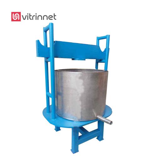 دستگاه پرس لرد 50 تن برای شیره پزی و روغن ارده مورد استفاده قرار میگیرد