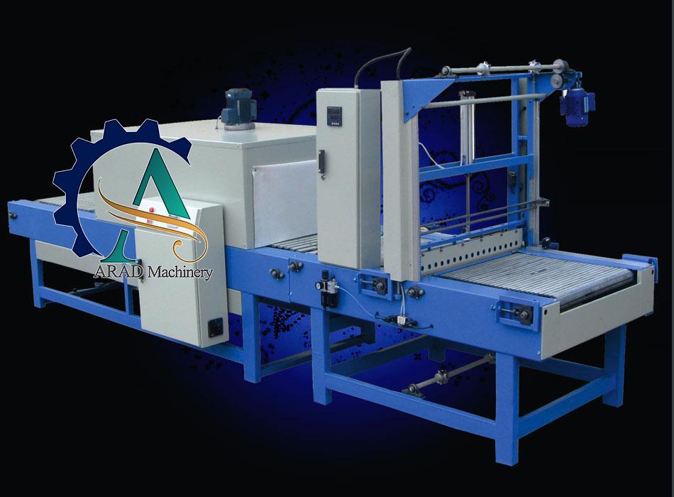 از دستگاه شرینک پک تونلی برای بسته بندی نوشابه و آب معدنی استفاده میشود