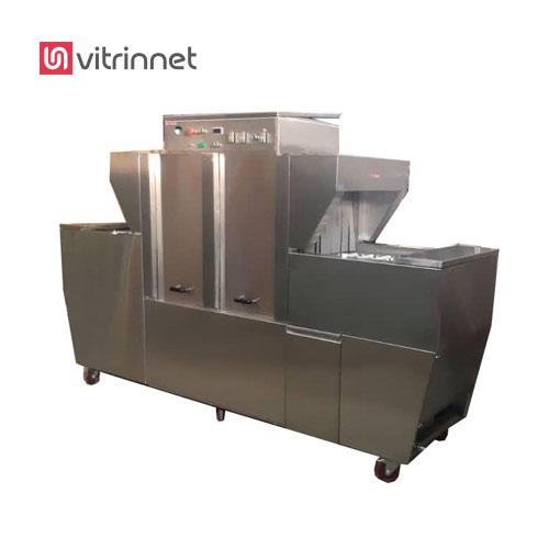ماشین ظرفشویی صنعتی یک دستگاه صنعتی است که برای شستن ظروف به صورت مکانیزه به کار گرفته می شود