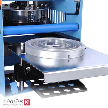 قالب دستگاه سیل حرارتی با توجه به ابعاد ظرف مورد نظر تهیه میشود.