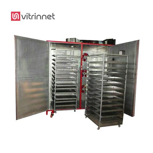 دستگاه خشک کن میوه در دو مدل : دستگاه خشک کن میوه تک کابین و دستگاه خشک کن میوه دو کابین ساخته میشود.