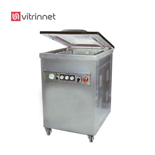 دستگاه وکیوم تک کابین با تزریق گاز GDZ-500، جهت تخلیه ی هوای داخل کیسه های پلاستیکی حاوی مواد غذایی مورد استفاده قرار می گیرد.