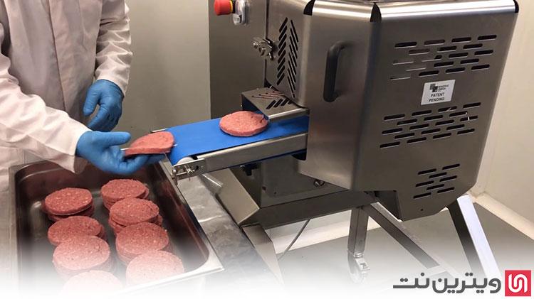 دستگاه همبرگر ساز اتوماتیک