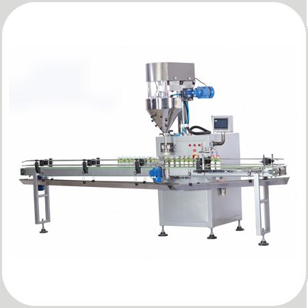 دستگاه قوطی پر کن پودری PS117 جهت بسته بندی انواع مواد پودری در قوطی و ظروف مشابه کاربرد دارد.