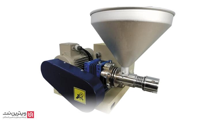 دستگاه روغن گیری کنجد از سیستم فشاری استفاده می کند