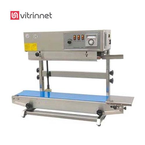 دستگاه دوخت ریلی عمودی برای انواع متفاوت از جنسهای پلاستیکی قابل استفاده می باشد