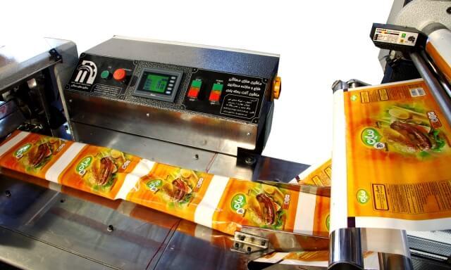 دستگاه بسته بندی همبرگر-دستگاه بسته بندی ساندویچ-دستگاه بسته بندی کباب لقمه-دستگاه بسته بندی-نان فانتزی
