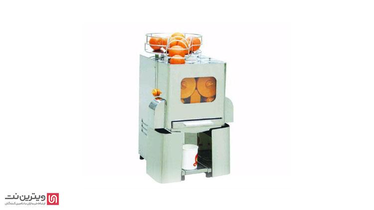 فروش دستگاه آب پرتقال گیری صنعتی در ویترین نت
