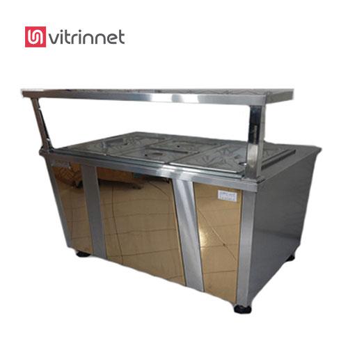 کانتر گرم 120 سانت وسیله ای برای گرم نگه داشتن غذا، ست.