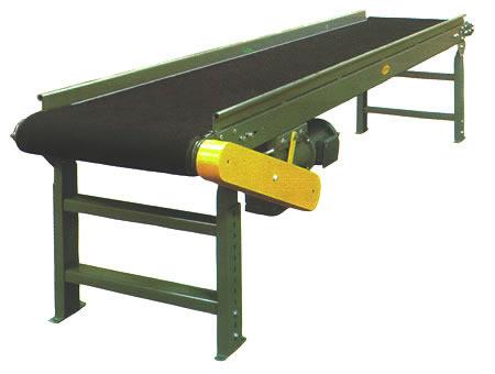 دستگاه نوار نقاله جهت انتقال کیسه از سالن بسته بندی تا سالن انبارها استفاده می شود .
