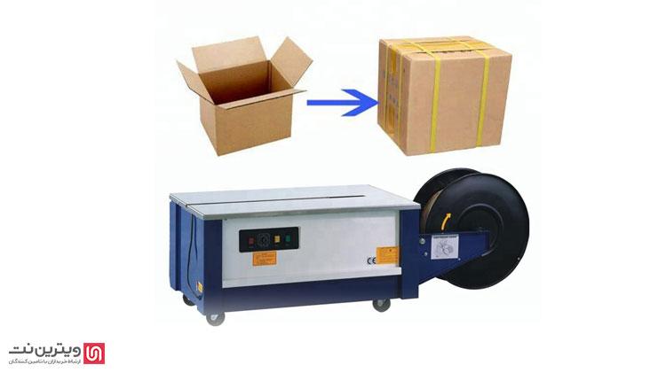 به طور کلی در صنایع بسته بندی از دستگاه تسمه کش برای متصل کردن تسمه به دور کارتن ها و یا جعبه های محصولات مختلف استفاده می شود.