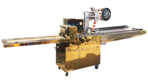 دستگاه بسته بندی گز اتوماتیک plc دار , دستگاه بسته بندی سلفون از رو