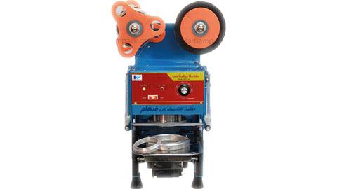 دستگاه سیل نیمه اتوماتیک ظروف یکبار مصرف , دستگاه سیل رومیزی