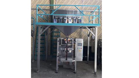 آلة تعبئة السكر و القند ستة توزین