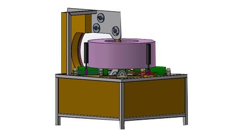 دستگاه کویل پیچ اجسام حلقه ای , دستگاه استرچ پالت