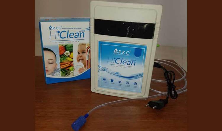 دستگاه ازن ساز خانگی ضدعفونی میوه و سبزیجات