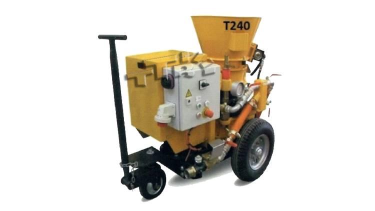 دستگاه شاتکریت T240