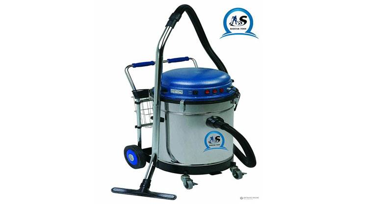 جاروبرقی صنعتی ۳ موتوره آب و خاک