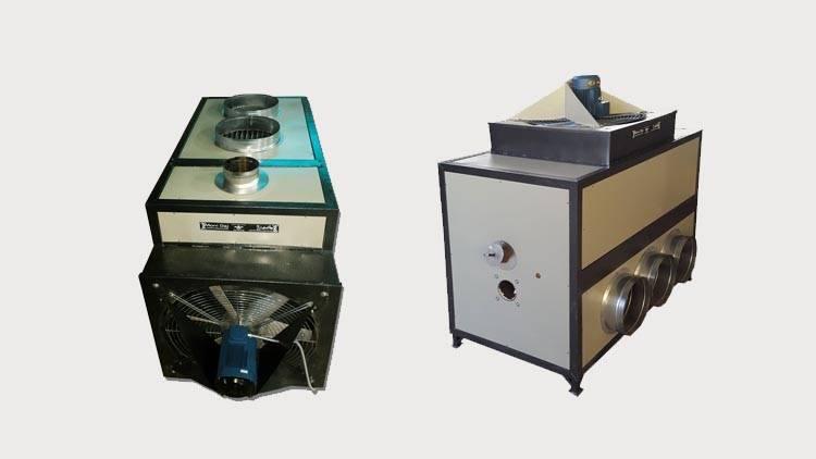 بخاری گلخانه 230000 تک فن
