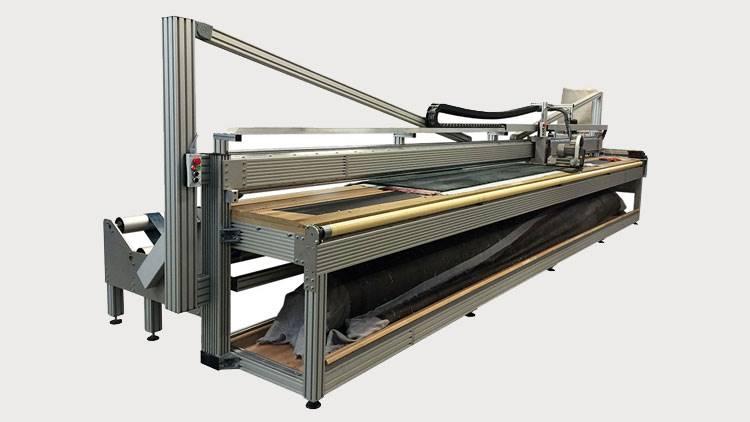 دستگاه نیمهاتوماتیک پرداخت سطحی فرش EFAB GmbH