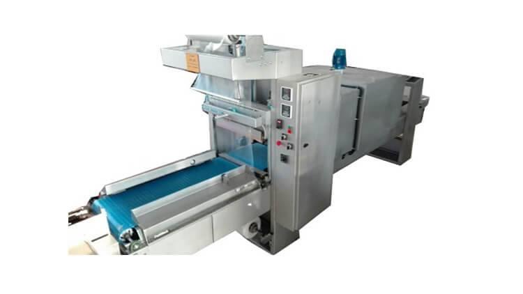 دستگاه شیرینگ پک تمام اتوماتیک با نوار ورودی مستقیم (تتراپک)
