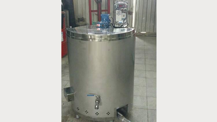 دستگاه پخت شیر پاتیل شیر 200 لیتری
