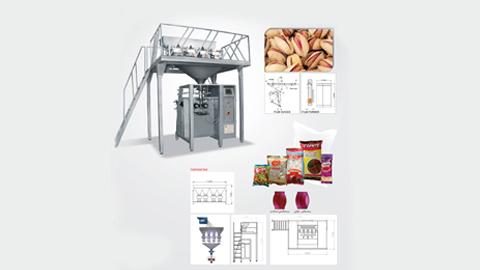 دستگاه بسته بندی قند و شکر , دستگاه پرکن توزینی