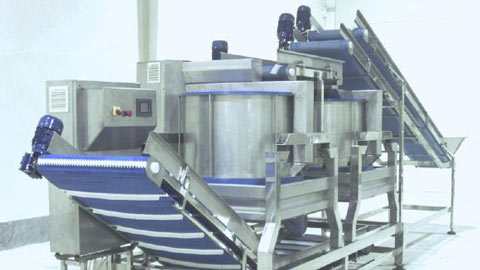 دستگاه آبگیر سانتریفیوژ اتوماتیک سبزیجات برگی و ریشه ای