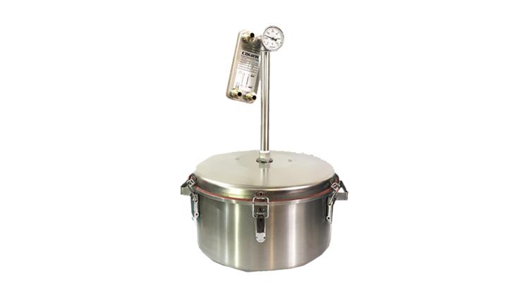 دستگاه گلابگیری استیل 25 لیتر