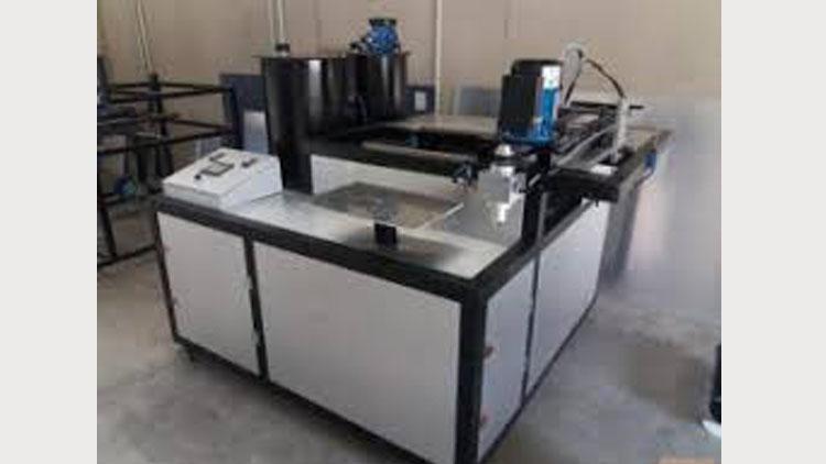 دستگاه تولید فیلتر هوا (PU)
