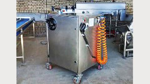 کارواش شستشوی ماشین آلات صنعتی