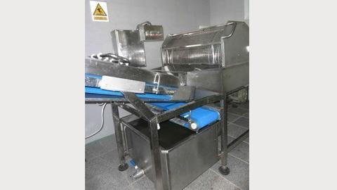 دستگاه شست و شوی سبزیجات برگی مدل LW-44