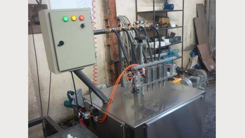 دستگاه پرکن پمپی نیمه اتوماتیک , دستگاه پرکن مایعات غلیظ
