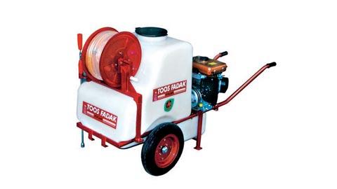 سمپاش فرغونی سمپاش موتوری چرخ دار  , ادوات و لوازم باغبانی