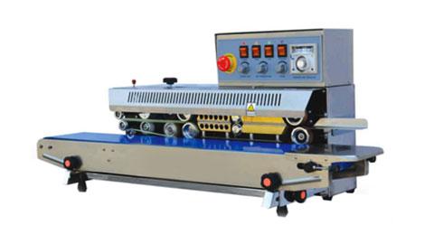 دستگاه دوخت ریلی ولومی با تاریخ زن GVF-900A , دستگاه دوخت پلاستیک
