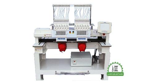 دستگاه گلدوزی کامپیوتری دوخت مارک و لوگو , دستگاه چرخ گلدوزی صنعتی