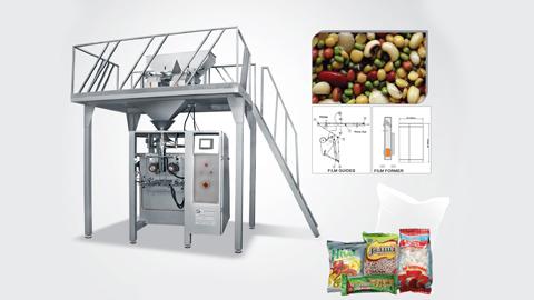 دستگاه بسته بندی حبوبات و خشکبار اتوماتیک