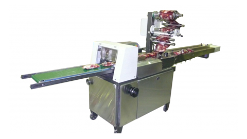 دستگاه بسته بندی ظروف یکبار مصرف , دستگاه بسته بندی ظروف یکبار مصرف-سلفون از زیر