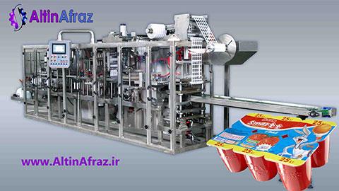 دستگاه بسته بندی عسل و مربا تک نفره با فرم فیل سیل , صنایع غذایی