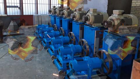 خط تولید زغال فشرده یا چینی , دستگاه و خط تولید زغال