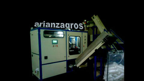دستگاه باد کن پت , ماشین تزریق پلاستیک بادی