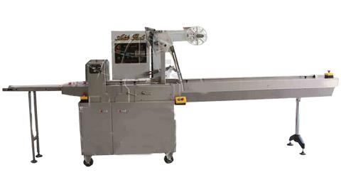 دستگاه بسته بندی سوهان عسلی اتوماتیک دارای PLC , دستگاه بسته بندی سلفون از رو