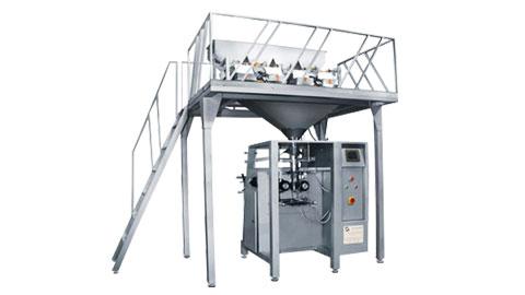 دستگاه بسته بندی حبوبات و خشکبار چهار توزین مدل ssn4008