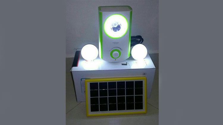 سیستم روشنایی خورشیدی , پکیج خورشیدی
